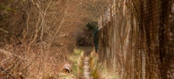 Canal de drenagem de águas pluviais
